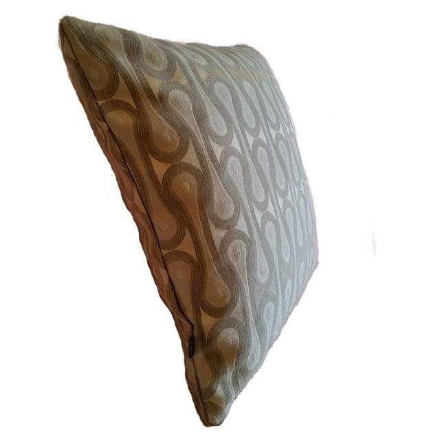 Maharam Design 9297 Ash Gray Pillow Cover - Image 2 of 2