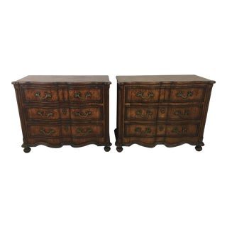 Vintage Drexel Heritage Chests - a Pair For Sale