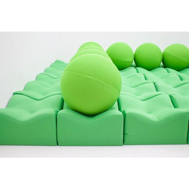 """Very rare seating landscape """"Cup and Ball"""" by Ronald Koop Germany. The design was awarded a design award in England in..."""
