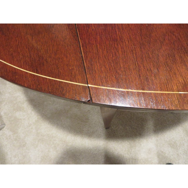Early 20th Century Antique Baker Furniture Drop Leaf Pembroke Table For Sale - Image 10 of 13