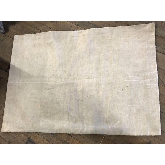 Mid 20th Century Modernist Abstract Hand-Loomed Rug or Wall Hanging After Picasso - 3′5″ × 2′5″ For Sale - Image 5 of 6