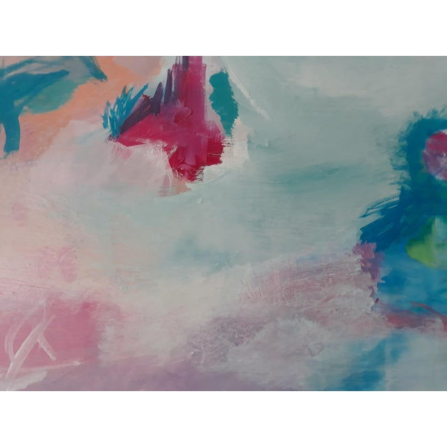 """2010s """"Perfect Alignment"""" Abstract Art on Canvas by Michelle Chong For Sale - Image 5 of 12"""