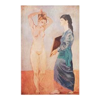 """1950s Picasso, Original """"La Toilette"""" Period Lithograph For Sale"""