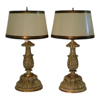Thomas Morgan Designer Table Lamps - a Pair For Sale