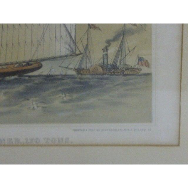 The American Schooner Print, 1850 For Sale - Image 5 of 8