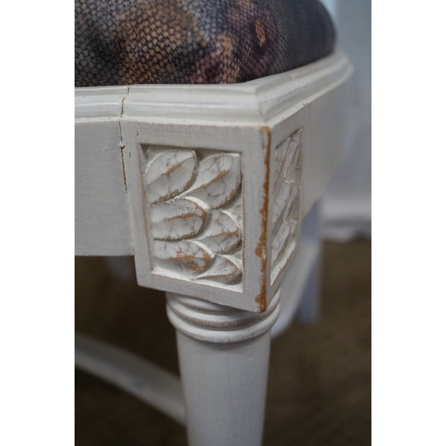 Whitewash Dining Chairs - Set of 10 - Image 8 of 10