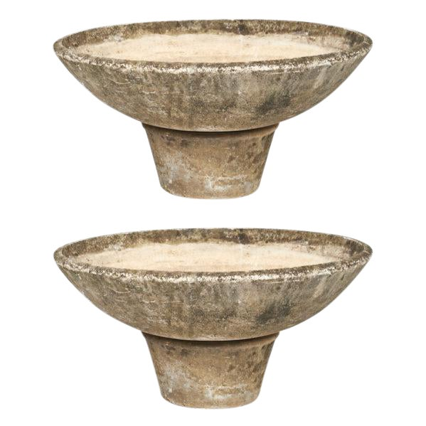 Mid-Century French Jardinieres - a pair For Sale