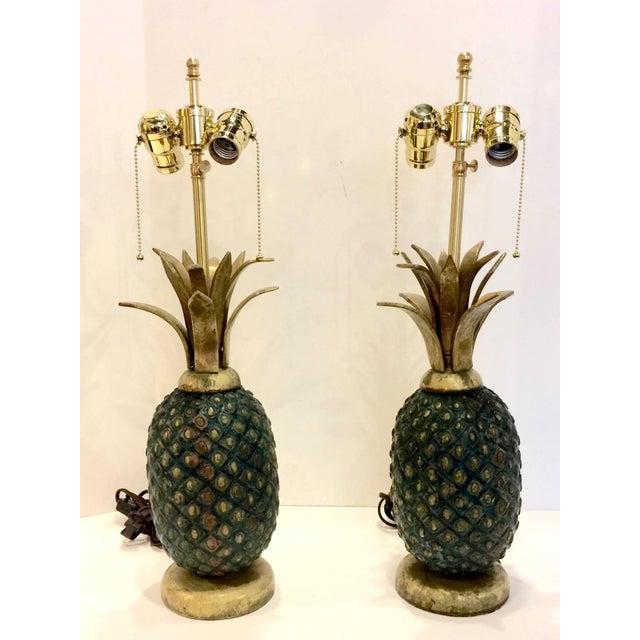glass metal lighting viyet designer furniture pineapple lig front with vintage base lamp lamps