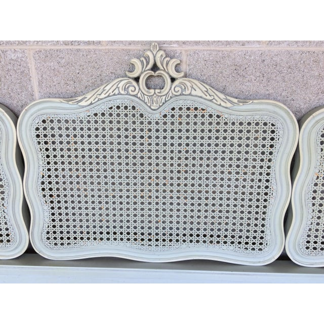 Hickory White French Provincial Queen/ Double Headboard - Image 4 of 8