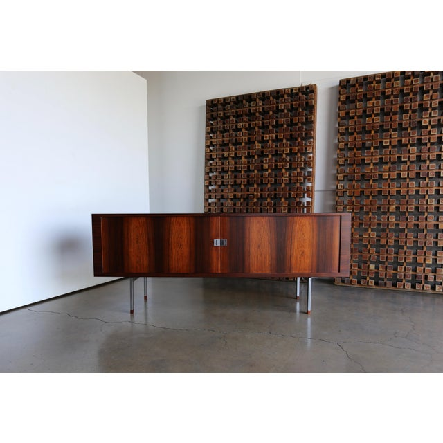 Hans Wegner Rosewood 'President' Cabinet, 1965 For Sale - Image 13 of 13