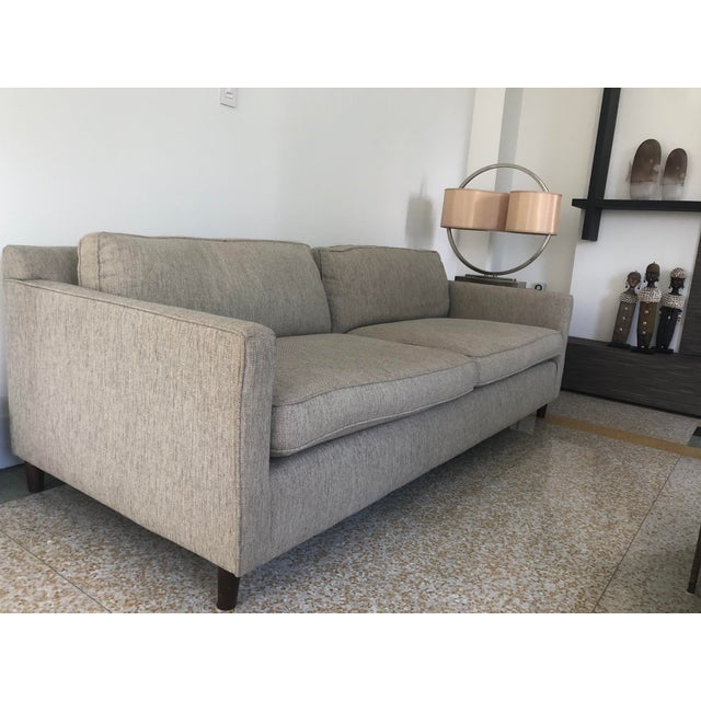 Contemporary Mitchell Gold+Bob Williams 2-Seat Sofa For Sale - Image 3 of 5