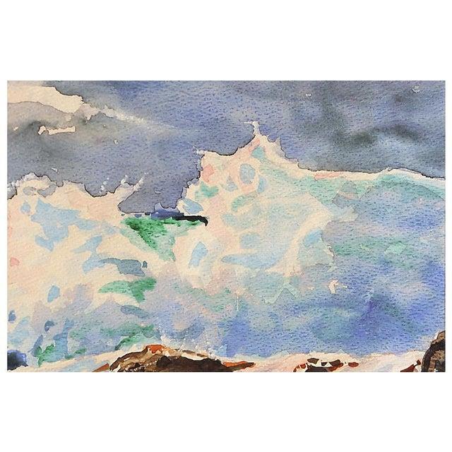 Modern Carmel Surf by Edwin Adamson For Sale - Image 3 of 5