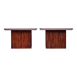 Danish Modern Rosewood Side Tables - a Pair For Sale