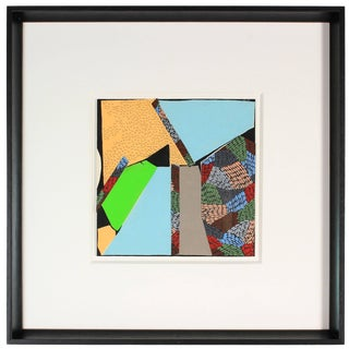 Gwen Stone Contemporary Acrylic & Collage Abstract, 1999 1999 For Sale