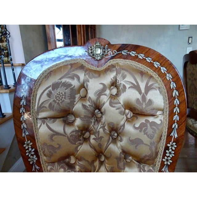 2000 - 2009 Extra Large Italian Baroque Style Solid Wood Dining Set - 9 Pieces For Sale - Image 5 of 12