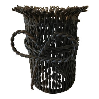 Twisted Wire Pot