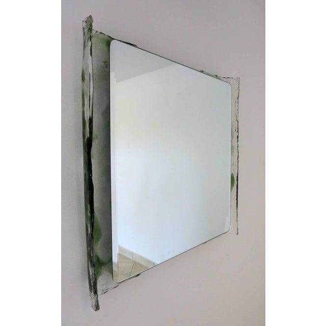 Mid 20th Century Italian Murano Glass Bathroom Set by Mazzega For Sale - Image 5 of 13