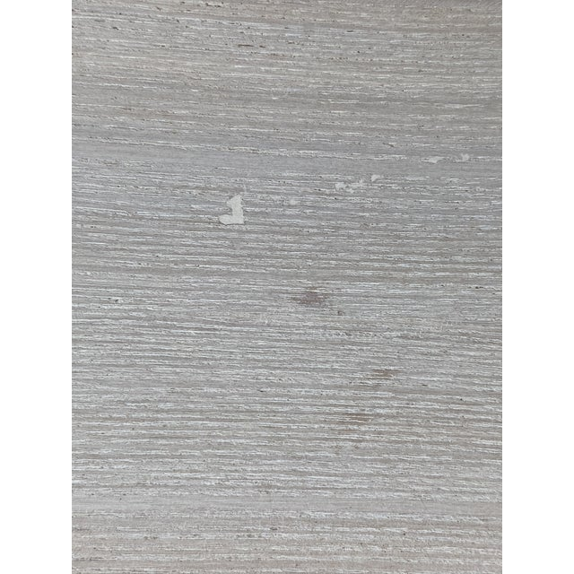 Wood Whitewashed Side Table by Paul Frankl For Sale - Image 7 of 13