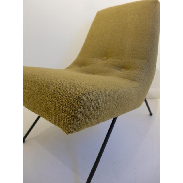 1950s Lounge Chair with Ottoman by Adrian Pearsall For Sale - Image 5 of 8