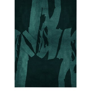 Covet Paris Triology Botanical Rug - 6′7″ × 9′10″ For Sale