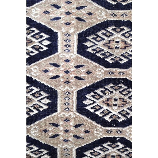 Jaldar Pakistani Wool & Cotton Rug - 2′6″ × 3′ - Image 2 of 4