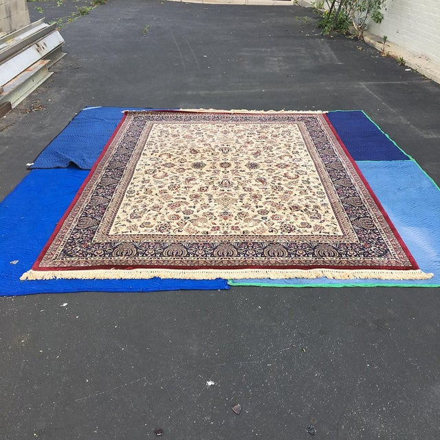"Traditional Persian Floral Rug - 7'9"" x 11'4"" - Image 2 of 6"