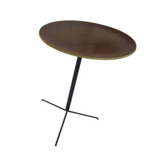1950s Mid-Century Modern Osvaldo Borsani Tecta Side Table For Sale