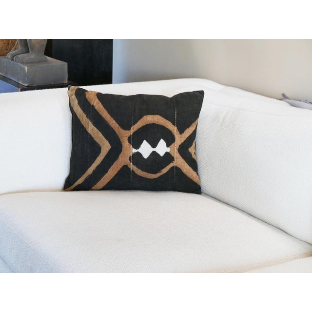 Mudcloth is handcrafted from authentic West African mud cloth. The pillow cover will reflect the centuries-old art of mud...
