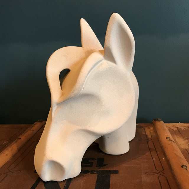Jaru Ceramic Horse Head - Image 5 of 8