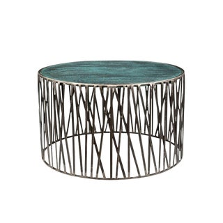 Contemporary Garrard Wooden Coffee Table For Sale