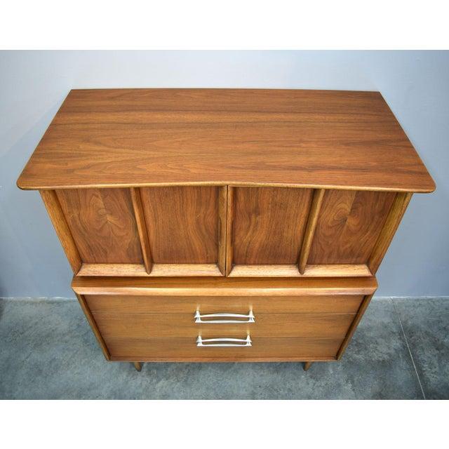 On Hold - Kent Coffey Walnut Highboy Dresser - Image 3 of 11