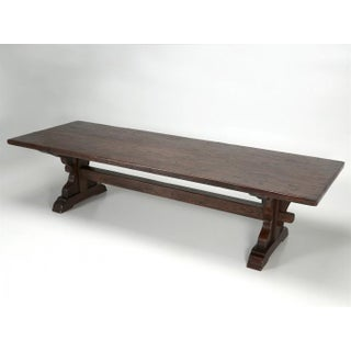 Antique French Oak Trestle Dining Table Preview