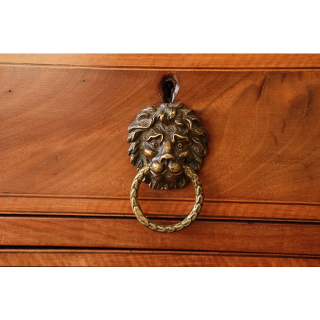 Brown 1820s English Inlaid Mahogany Sideboard For Sale - Image 8 of 11