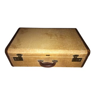 1940s Traditional Hartmann Suitcase For Sale
