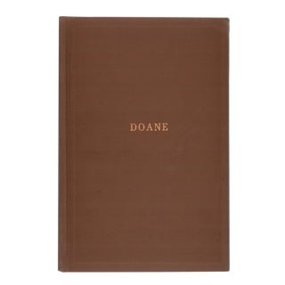 """1960 """"The Doane Family and Their Descendants"""" Collectible Book For Sale"""
