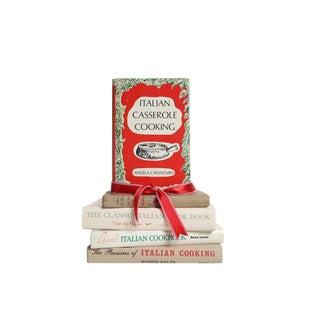 Buon Appetito : Gift Set of Five Decorative Vintage Books