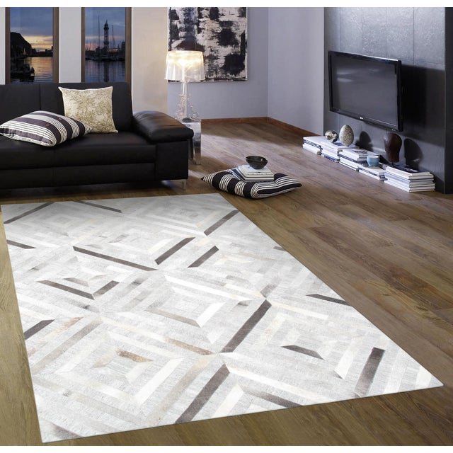 Pasargad Custom Made Cowhide Rug - 8' x 10' - Image 3 of 4