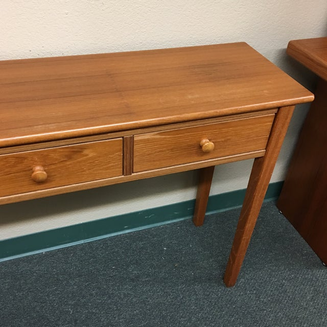 Teak Console Table - Image 4 of 7