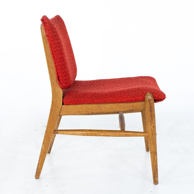 John Keal for Brown Saltman Mid Century Mahogany Dining Chairs - Set of 4 For Sale - Image 10 of 13