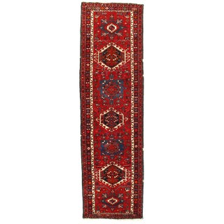 """Pasargad Ny Antique Persian Karajeh Hand-Knotted Rug - 3'1"""" X 10'10"""""""
