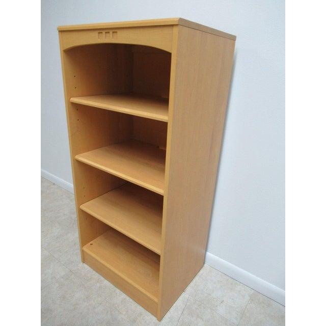 Mid Century Modern Ethan Allen American Dimensions Bookshelf For Sale