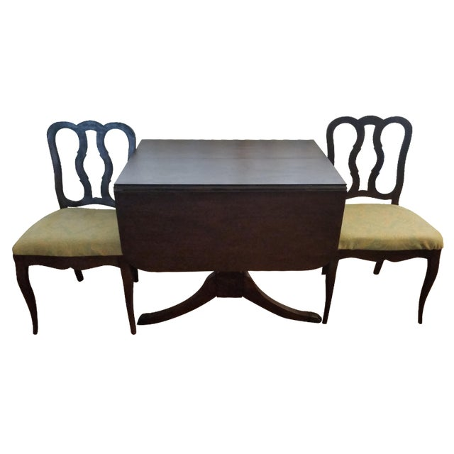 Duncan Phyfe-Style Craddock Dining Set For Sale