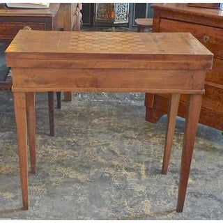 19th Century French Biedermeier Game Table With Inlay Top Preview