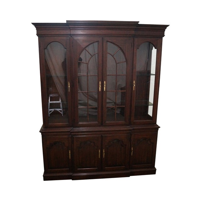 Harden Solid Cherry Chippendale China Cabinet - Image 1 of 10