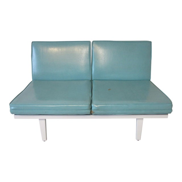 George Nelson Steelframe Sofa / Loveseat by Herman Miller For Sale