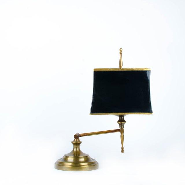 Ethan Allen Articulating Brass Lamp - Image 4 of 11