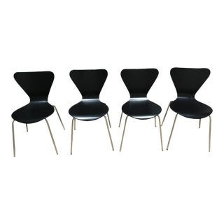 Arne Jacobsen Style Chairs by Room & Board