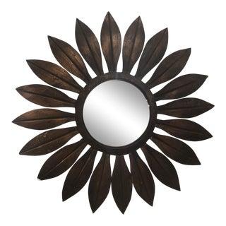 Mid-Century Starburst Mirror