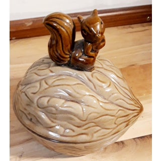 Lidded Candy or Nut Bowl With Squirrel for Knob Preview