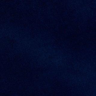 Schumacher Rocky Performance Velvet Fabric in Royal For Sale